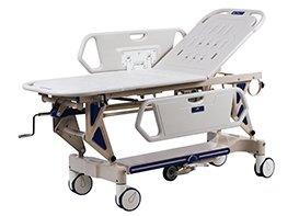 Кровать-каталка 2-х секционная для перевозки пациентов. XHDJ