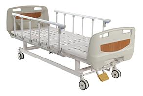 Кровать медицинская 4-х секционная без регулировки по высоте. XHS20B